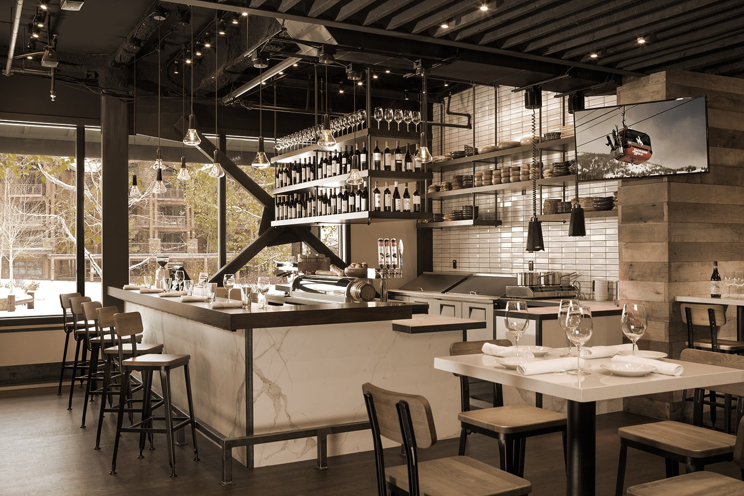 Welcome to Teton Village's New Enoteca